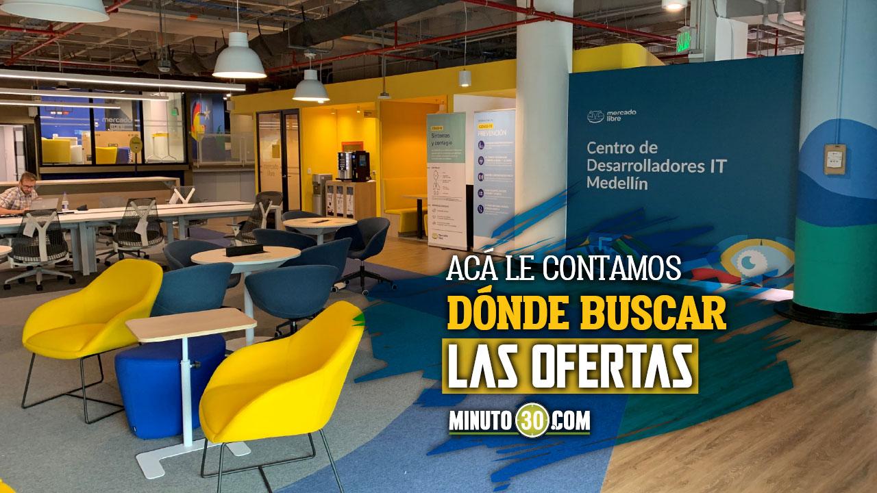 ¿Está buscando camello? Mercado Libre abre más de 400 vacantes para trabajar en Medellín - Noticias de Colombia