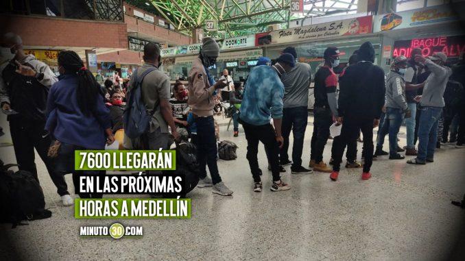 Migrantes Haitianos varados en Necoclí se quieren devolver a países latinoamericanos y no seguir su ruta a EE.UU.