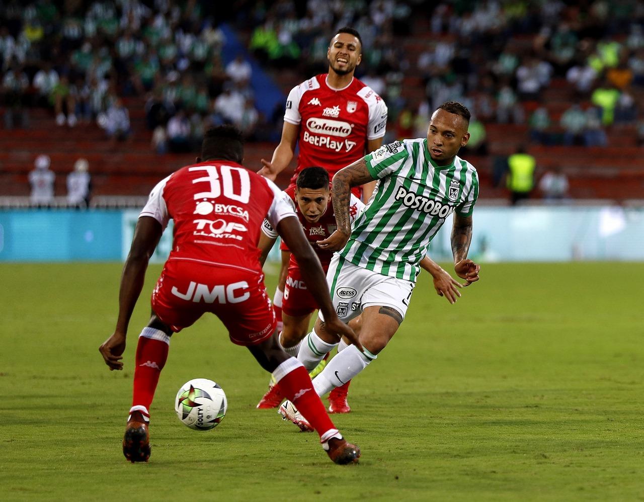 Nacional vs Santa Fe en la Copa 1