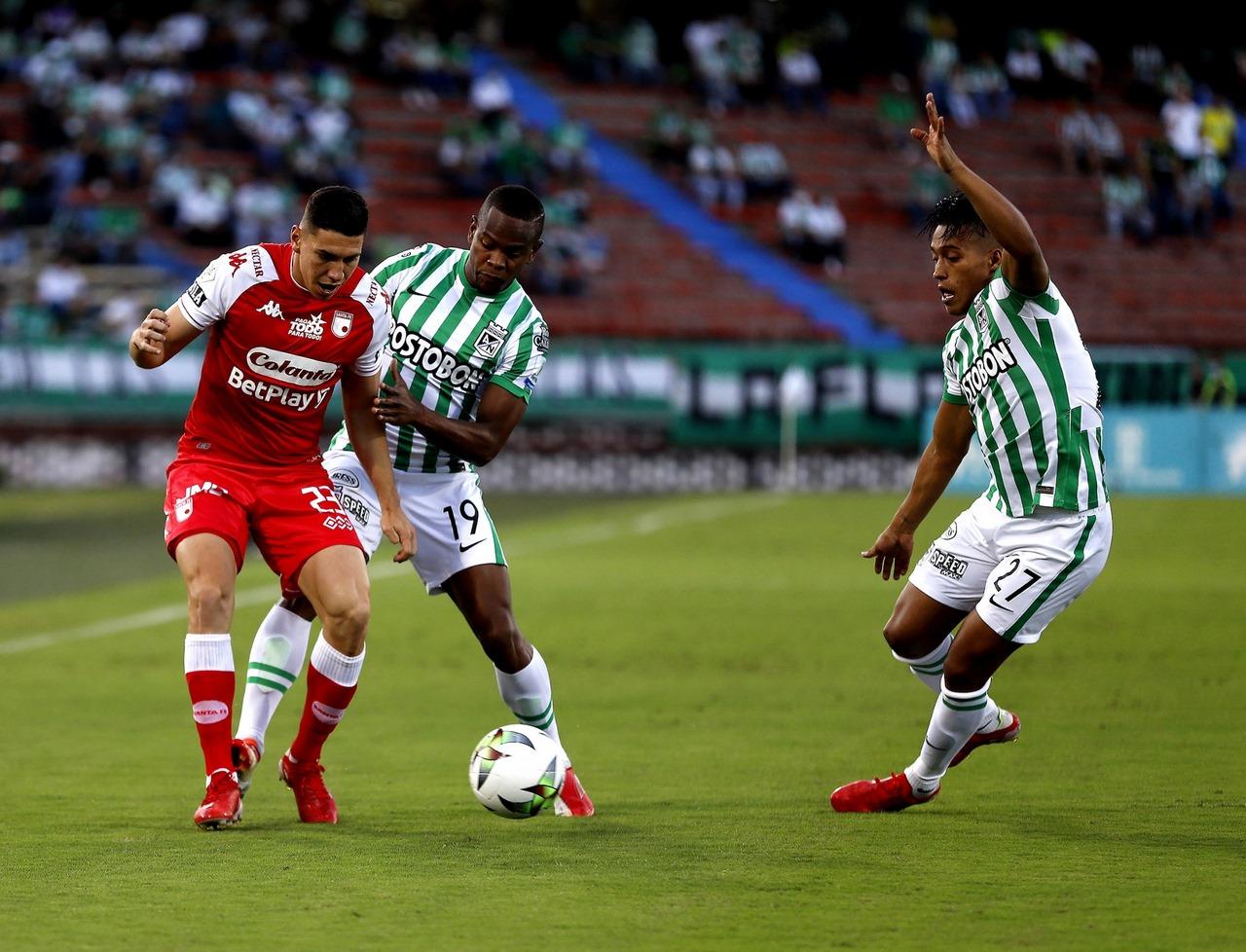 Nacional vs Santa Fe en la Copa 2