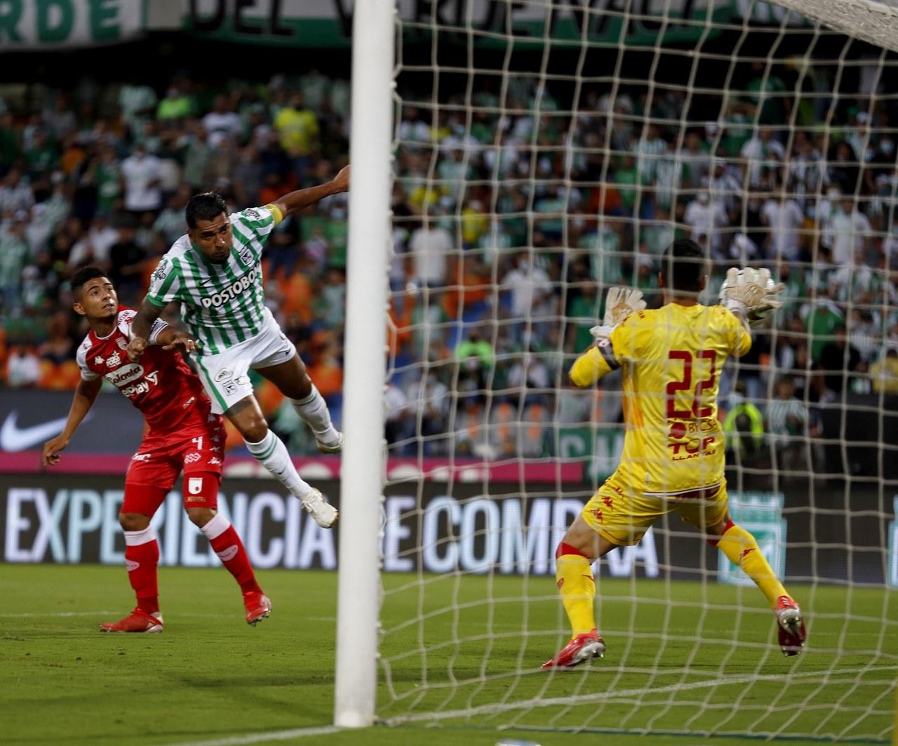 Nacional vs Santa Fe en la Copa 4