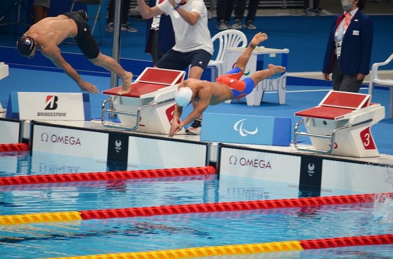 Nadadores colombianos 2
