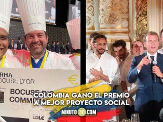 ¡Orgullo patrio! Colombiano ganó premio en el concurso más importante de cocina del mundo