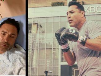 Oscar De la Hoya hospital covid