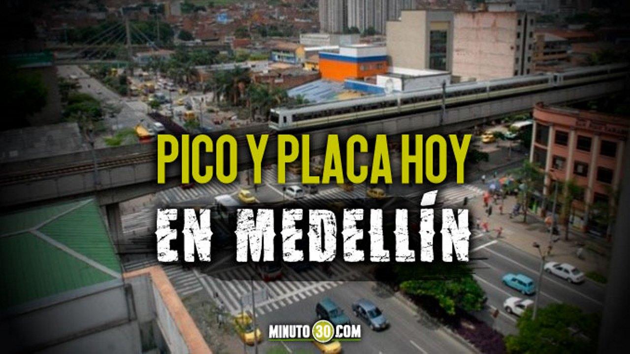 Pico y placa del 9 de septiembre en Medellín y Area Metropolitana - Noticias de Colombia