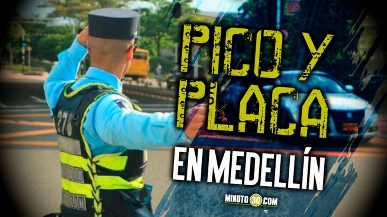 Pico y placa del 10 de septiembre en Medellín y Area Metropolitana - Noticias de Colombia