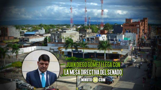 Juan Diego Gómez senado
