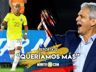 Reinaldo Rueda con un sabor agridulce tras el empate
