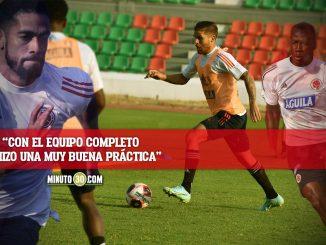 Rueda espera que Colombia muestre la huella que dejo en Copa America
