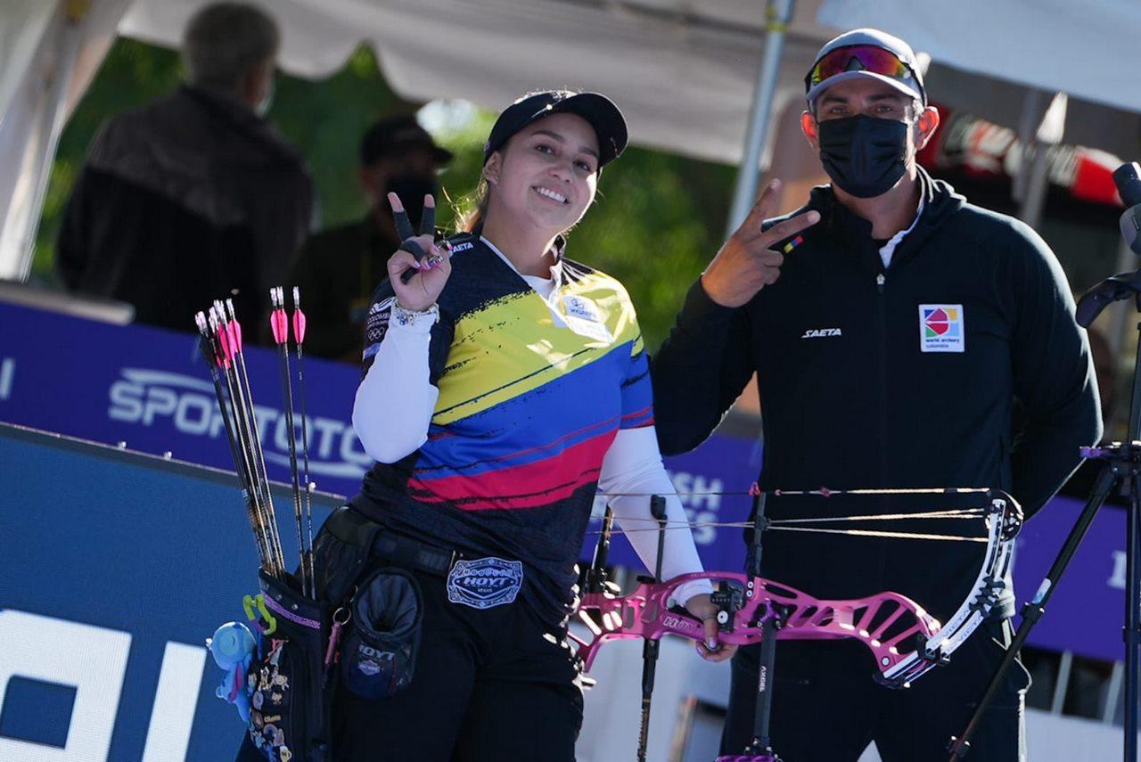 Sara Lopez tiro con arco 5