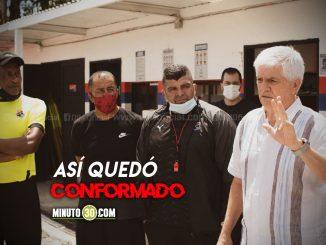 Se definieron colaboradores de Comesana en el cuerpo tecnico del Medellin