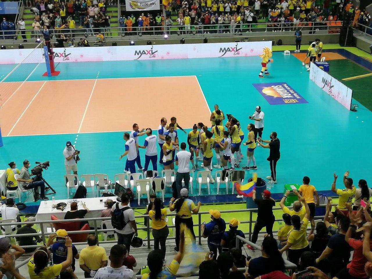 Seleccion Colombia de voleibol 2