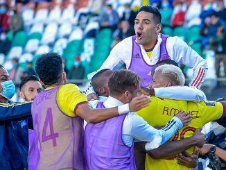 Seleccion Colombia vs Bolivia en La Paz 4 1