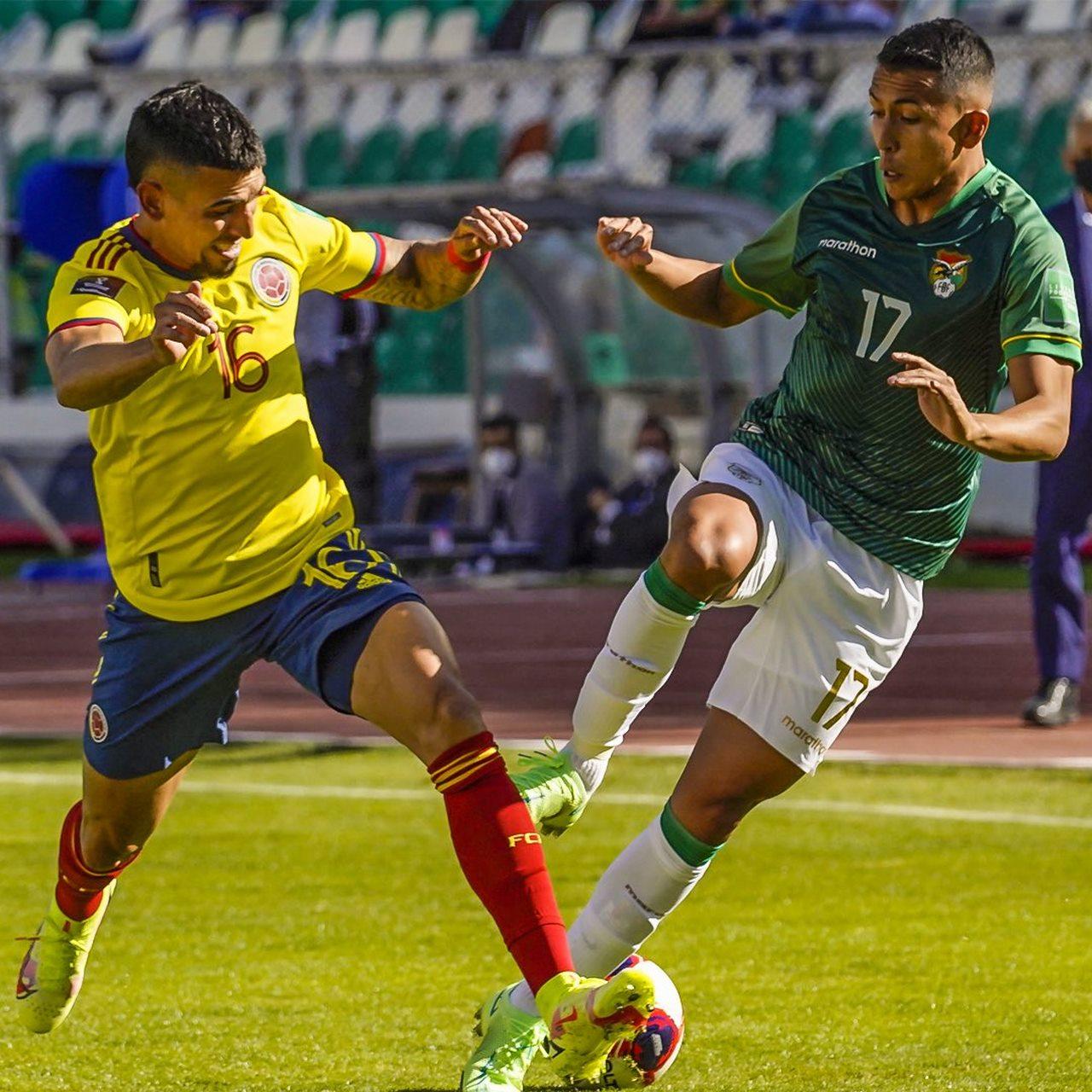 Seleccion Colombia vs Bolivia en La Paz 6