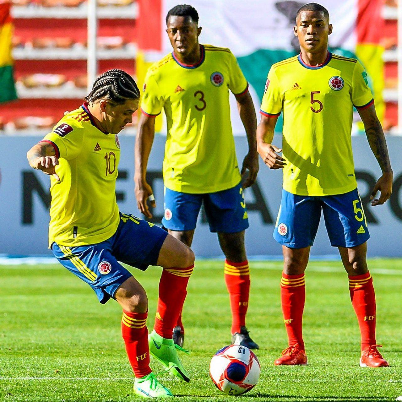 Seleccion Colombia vs Bolivia en La Paz 7