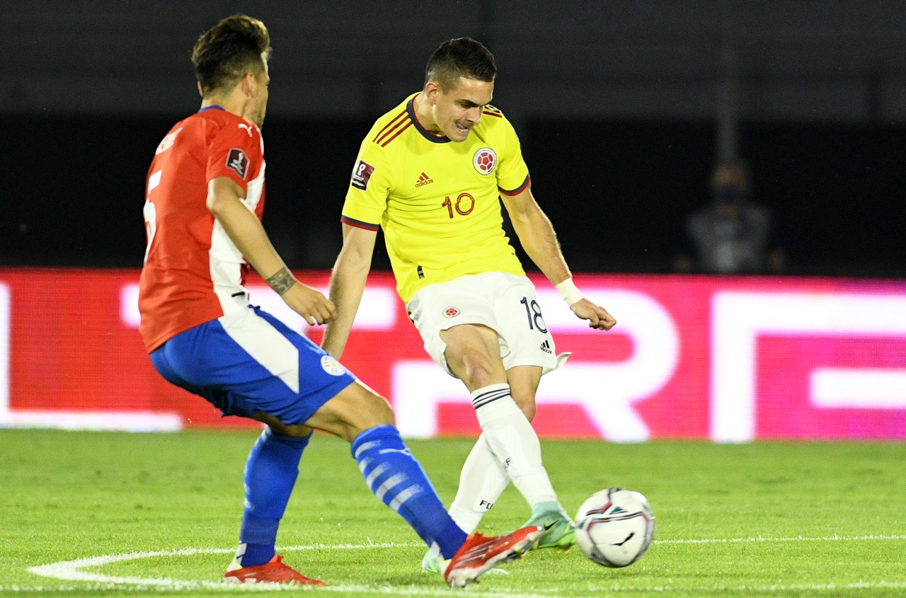 Seleccion Colombia vs Paraguay 1