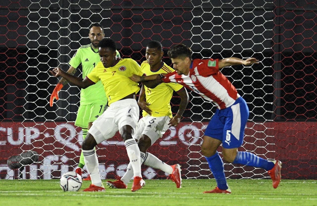 Seleccion Colombia vs Paraguay 3