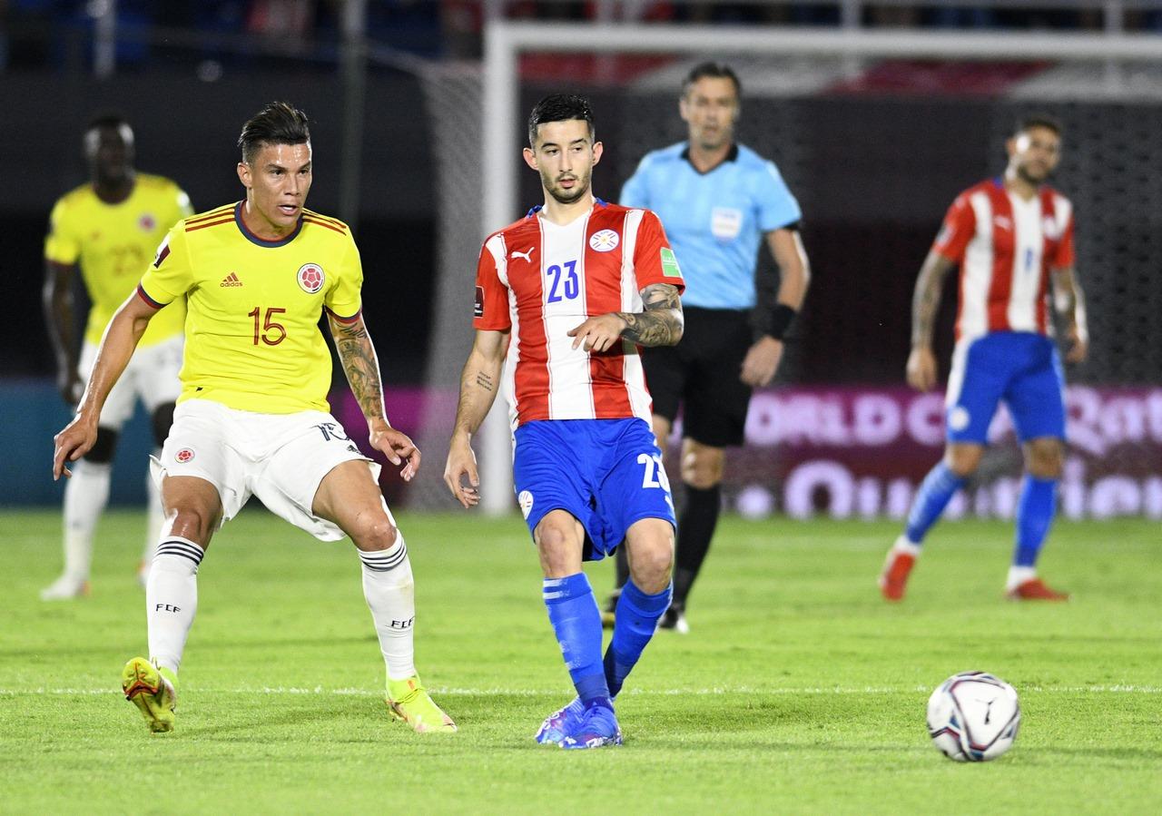 Seleccion Colombia vs Paraguay 5