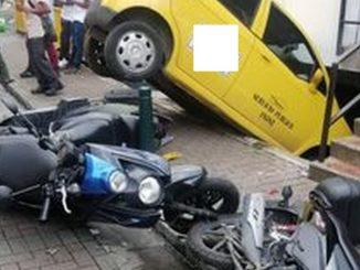 Taxi accidente Santo Domingo 5 1