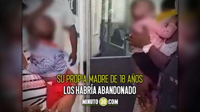 Encontraron a dos bebés abandonados en Puerto Berrío