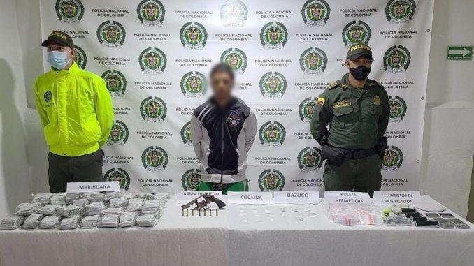 Cayó en Amagá alias 'Pirulo', presunto sicario