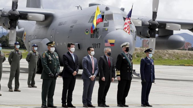aviones colombia