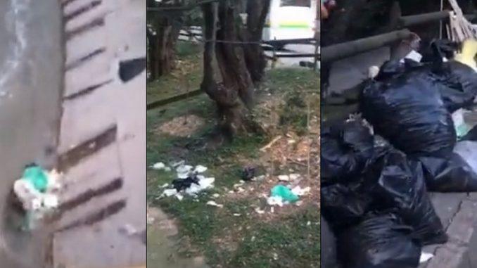 Denuncian basurero en Belén, por toda la canalización