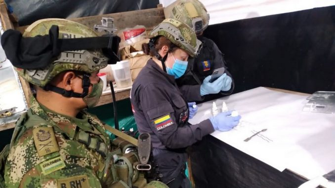 Cayeron dos laboratorios de clorhidrato de cocaína que serían del ELN