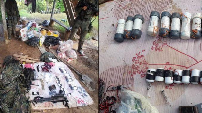 Destruyeron campamento de disidencias 'Comandos de Frontera'
