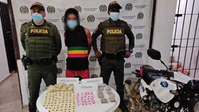Cogieron a presunto expendedor de estupefacientes en Cañasgordas