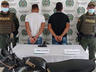 Los sujetos de 19 años deberán responder por el delito de tráfico, fabricación, porte de estupefacientes y armas de fuego o municiones.