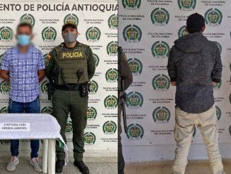 Capturados en Cisneros y Yolombó por orden judicial