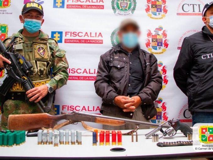 Capturado en El Carmen de Viboral por presunto acceso carnal