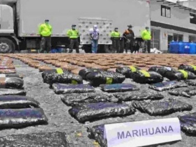Capturado sujeto por La Pintada que transportaba marihuana