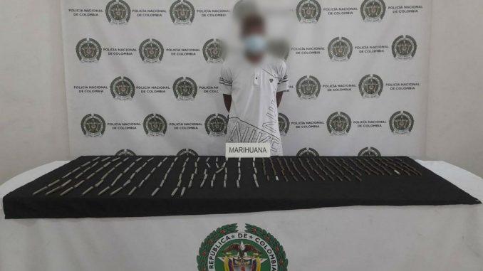 Capturado en Medellín con cigarrillos de marihuana