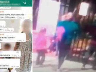 Discusión de mamás por chat terminó en puños a las afuera del colegio de sus hijos