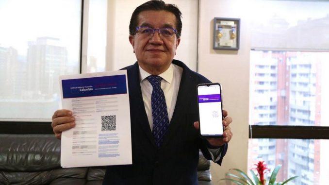 En 3 pasos podrá descargar certificado digital de vacunación