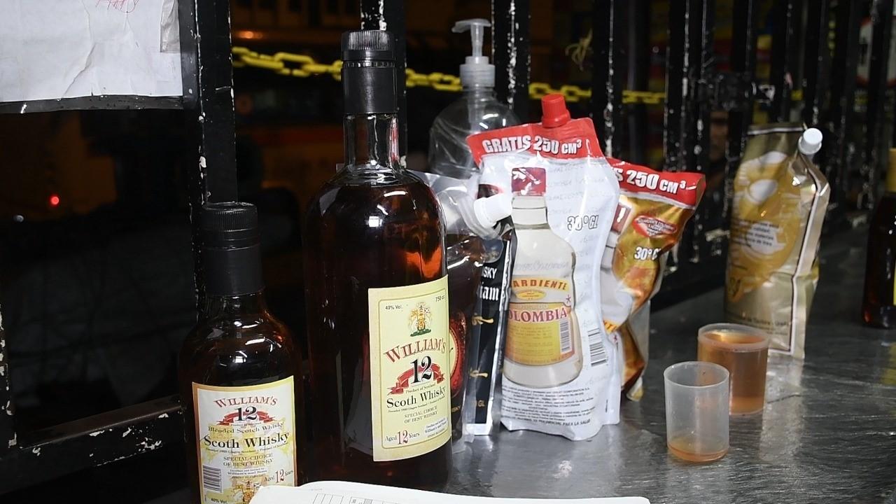 cigarrillo licor contrabando Santa Rosa 2
