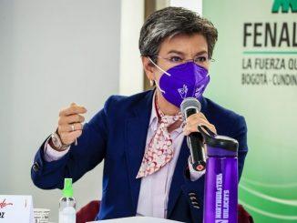 Claudia López anunció que Bogotá no se militarizará