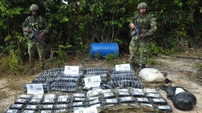 Cayó un millonario complejo de clorhidrato de cocaína del ELN