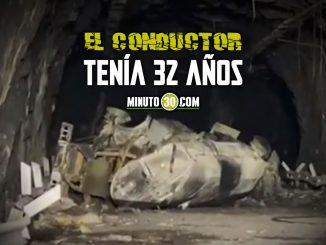 Conductor del carrotanque que explotó en túnel de la vía al Llano sí murió
