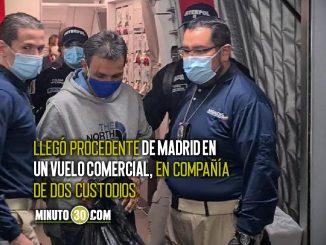Primeras imágenes de la llegada de 'El Zarco' a Colombia
