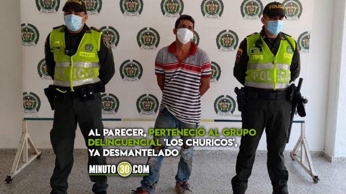 Cayó 'Pecho de lata', de los más buscados en Santander