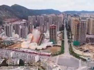 demolidos los 15 edificios china