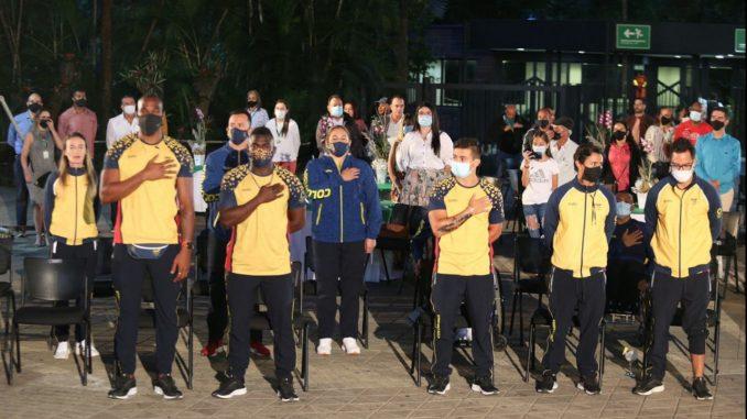 En Medellín le realizaron un reconocimiento a los deportistas antioqueños que participaron en Juegos Olímpicos y Paralímpicos