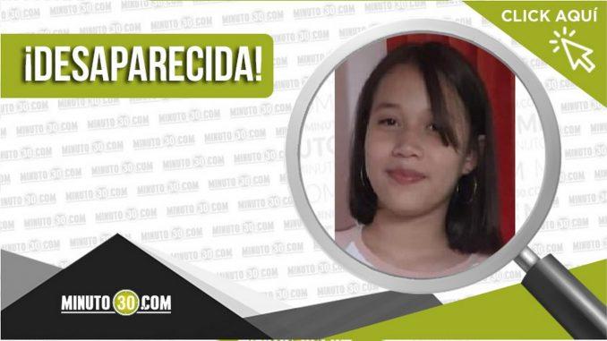 María Paulina López Carvajal desaparecida
