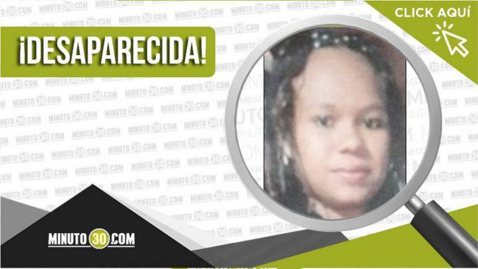 Nactaly Delgado Sánchez desaparecida