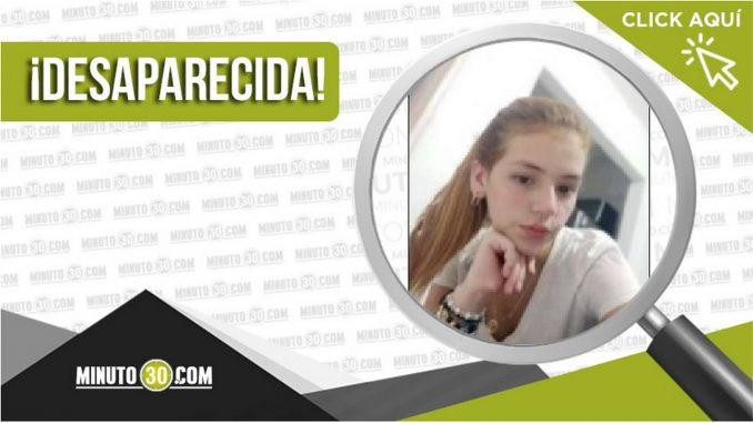 Carol Daniela Castro Holguín desaparecida