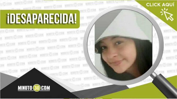 Lizeth Fernanda Soto Ramírez desaparecida