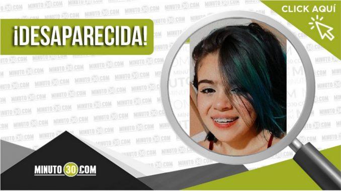 María Alejandra Jaramillo Jaramillo desaparecida